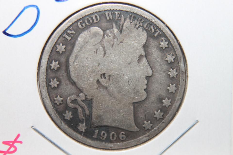 1906 standing liberty silver dollar